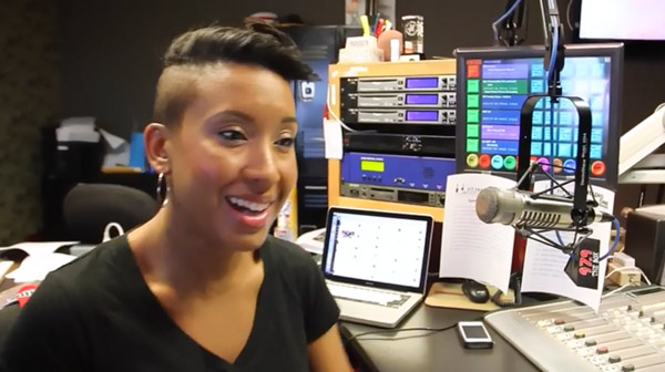 Jillian Simmons hosts radio